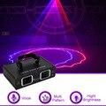 Sharelife 2 объектива Красный Синий цвет DMX луч сети Лазерный Свет домашний Гиг Вечеринка DJ проектор сценическое освещение Звук Авто 506RB