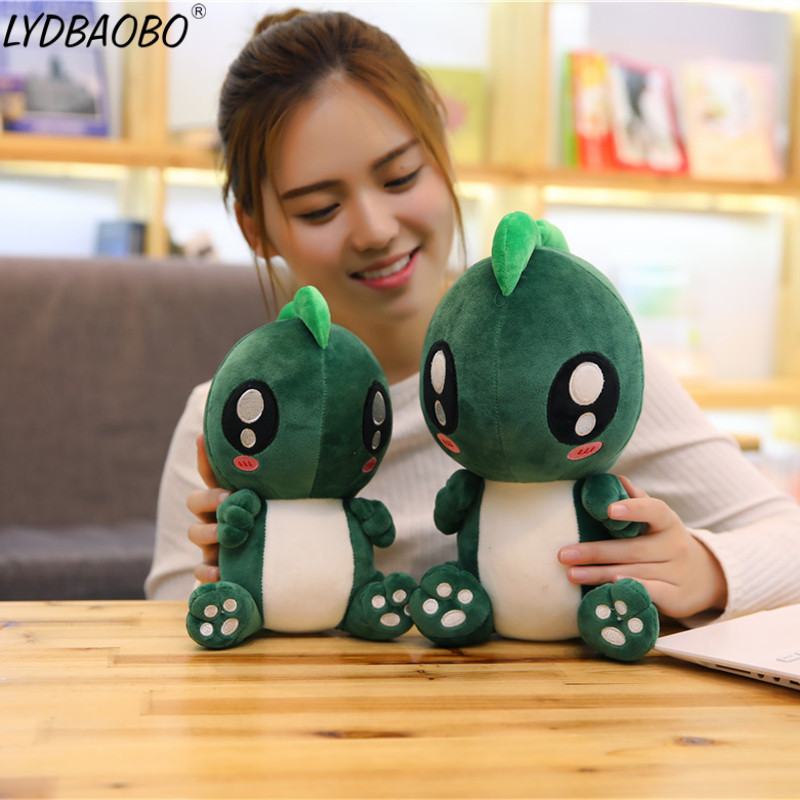LYDBAOBO 1PC 25/30/40CM Lovely Dinosaur Plush Doll Cute Monster Stuffed Toy Soft Cartoon Animal Doll Chidren Kids Birthday Gifts