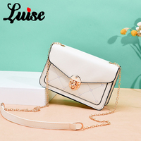 LUISE New Cute Ladies PU Handbag High Quality 2019 Hot Sale Little Girl Exquisite Color Casual Fashion Small Square Bag MY 06
