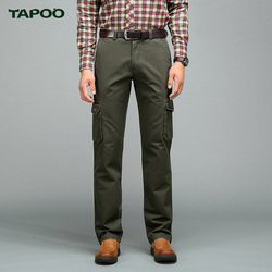 Tapoo men s classic cargo pants casual baggy cotton slim pant straight fashion business for male.jpg 250x250