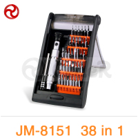 JAKEMY JM 8151 38 In 1 Portable Hardware Hand Tools Set Precision Screwdriver Set Multifunction Tablet