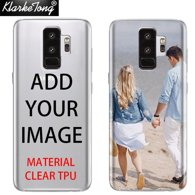big sale 61447 5d67d US $6.73 |Aliexpress.com : Buy DIY Photo Custom Print Phone Case For  Samsung Galaxy S6 S7 edge S8 S9 Plus Customized Back Soft Silicon Cover  from ...