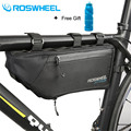 ROSWHEEL MTB велосипедный велосипед передняя рама труба треугольная сумка велосипедные аксессуары 2017 4L 100% водонепроницаемый в наличии