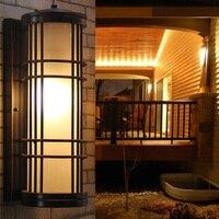 Exterior Wall Sconce Garden Fence Outdoor Lighting Garden Lamp Waterproof Outdoor Light Fixtures Backyard Lights Balcony Lamps