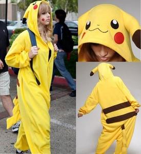 pokemon costume pikachu costume kids adult Pokemon GO jumpsuit costume party Favors holloween cosplay birthday costume