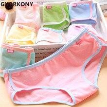 Girl Underwear Briefs Panties Hot-Sale Cotton Cute 12pcs/Lot Candy-Color A-SQ-A1313-12P