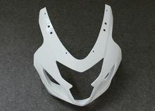ZXMT Unpainted Upper Front Fairing Cowl Nose For Suzuki GSX-R600 GSX-R750 K4 2004 2005 ABS Injection