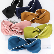 Satin Silk Women Head Scarf