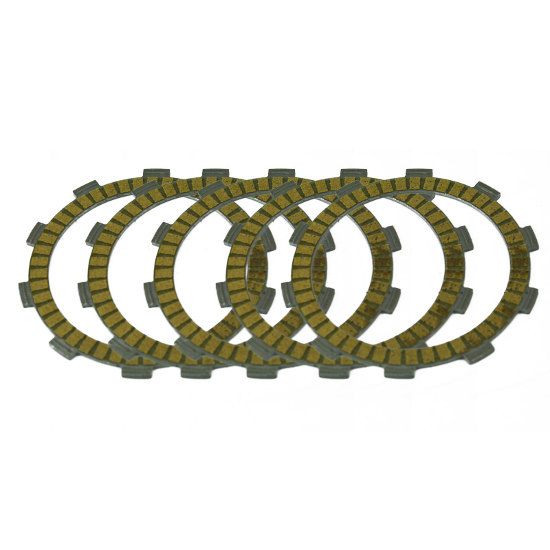 Motorcycle Clutch Friction Plates Kit For YAMAHA Timberwolf YFB250U 1996 1997 1998 YFM250 1989 1990 1991 Motorbike Engines Parts