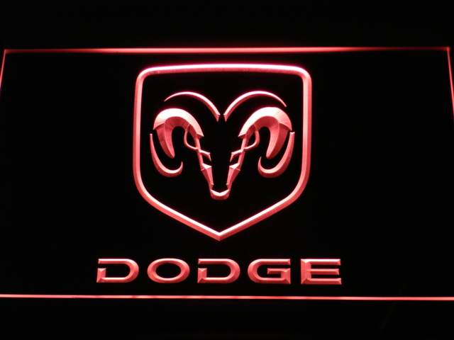 d037 Dodge LED Neon Sign