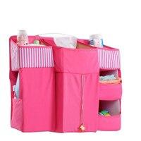 Baby Bed Portable Bedding Set Hanging Storage Bag For Baby Bedding Set Cot Crib Organizer Essential Diaper Storage Cradle Pocket