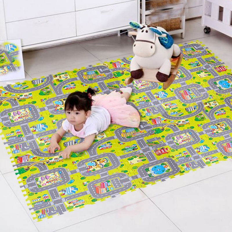 Baby Play Mat Soft Foam Puzzle Eva Split Joint Carpets For Children Indoor