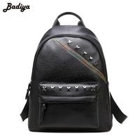 New Fashion Large Capacity Women Bags Travel Handbag Charms Sequined Double Straps School Backpack Girls PU
