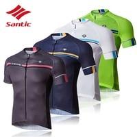 Santic Cycling Jerseys 2017 Men Quick Dry MTB Road Bike Clothes Tour De France Bike Bicycle