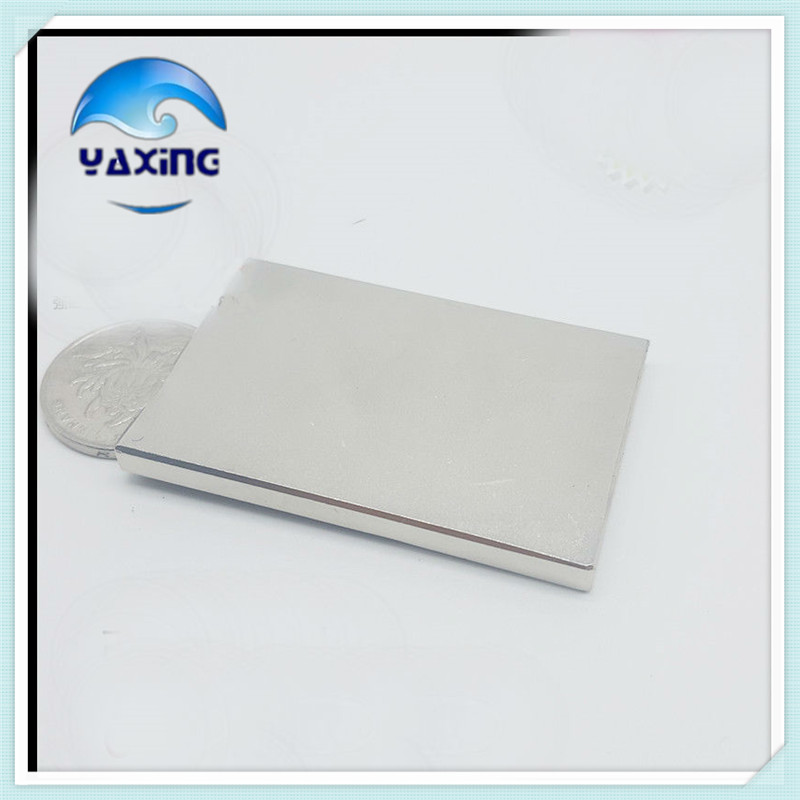 4pcs/pack neo magnets 60 x40x 5mm  Strong Cuboid Block Magnet Rare Earth magnets neodymium hot sale 60*40*5mm
