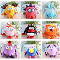 free shipping 1pcs 25-30cm Anime Smeshariki Small Pet on 10 modelling optional Plush Toys children's day or birthday baby toys