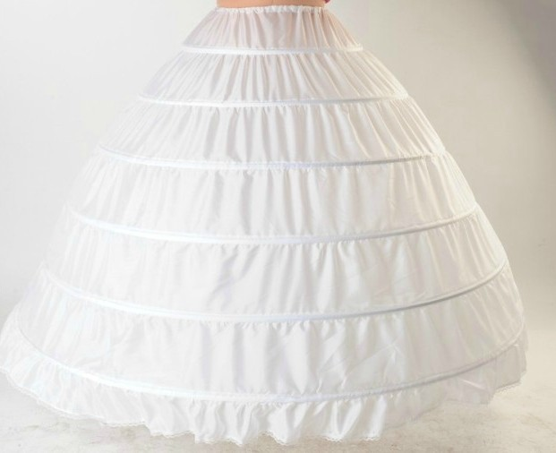 Hot Selling 6 layers Petticoat For Ball Gown Wedding Dress to Make ...