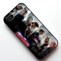 Marvel Avengers 2 Wiek Ultron Movie-03 Skrzynki Pokrywa, Case dla Apple Iphone 4S 5 5S SE 5c 6 6 s 6 plus 6 s plus