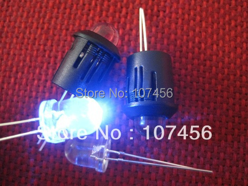 Led Holder Lamp 100pcs 8mm Blue Led ultra Bright Blue Led 8mm Light-emitting Diode For Free Led Holder/cover Making Things Convenient For The People