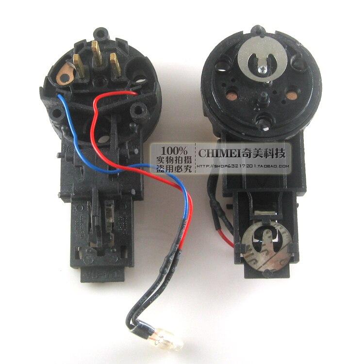 Rápido chaleira elétrica cafeteira termostato switch controle de temperatura pés com a linha de base