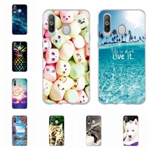 For Samsung Galaxy A8s Case Ultra-thin Soft TPU Silicone A8S Cover Cute Animal Pattern Shell