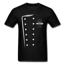 f6c660d1e Chef Costume Design T-shirt Print Men Cooks T Shirt Uniform Tshirt O Neck  Cotton Fabric Clothes Funny Tops & Tees Top Quality