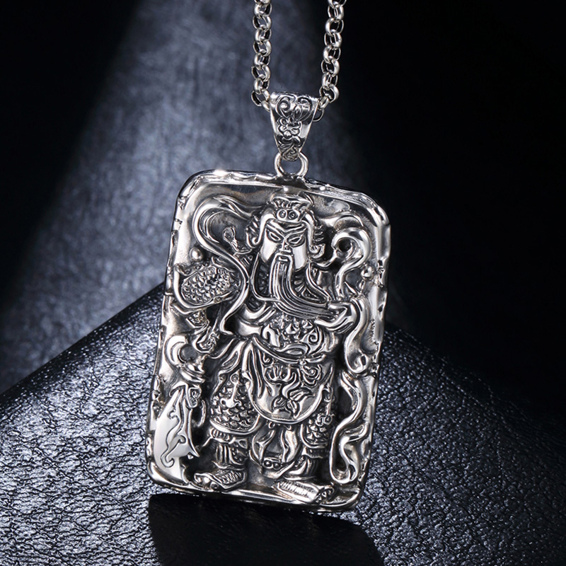 Aliexpress buy pendant silver 925 jewelry vintage mens pendant aliexpress buy pendant silver 925 jewelry vintage mens pendant guan large korean male trendsetter necklace accessories from reliable necklace charm aloadofball Choice Image