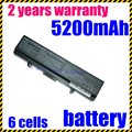 Jigu batería del ordenador portátil para dell gw240 297 m911g rn873 ru586 xr693 para dell inspiron 1525 1526 1545 notebook battery x284g