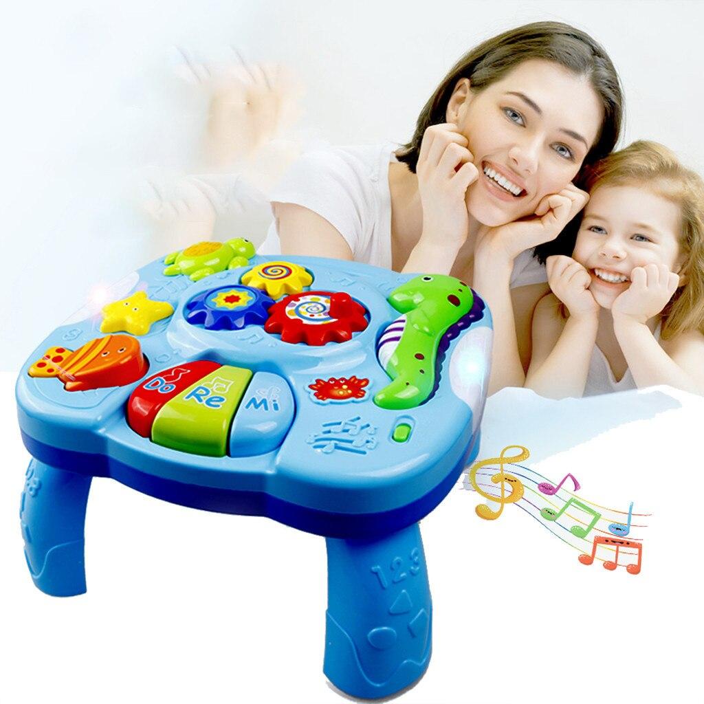 MUQGEW jouets pour enfants musique étude Table bébé jouets-enfants jouets éducatifs électroniques brinquedos jouet speelgoed brinquedos