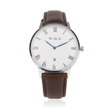 Relojes hombre 2016 Montres Hommes Marque De Luxe Mode Quartz Montre 40mm Femmes Business Casual montre-Bracelet Relogio masculino