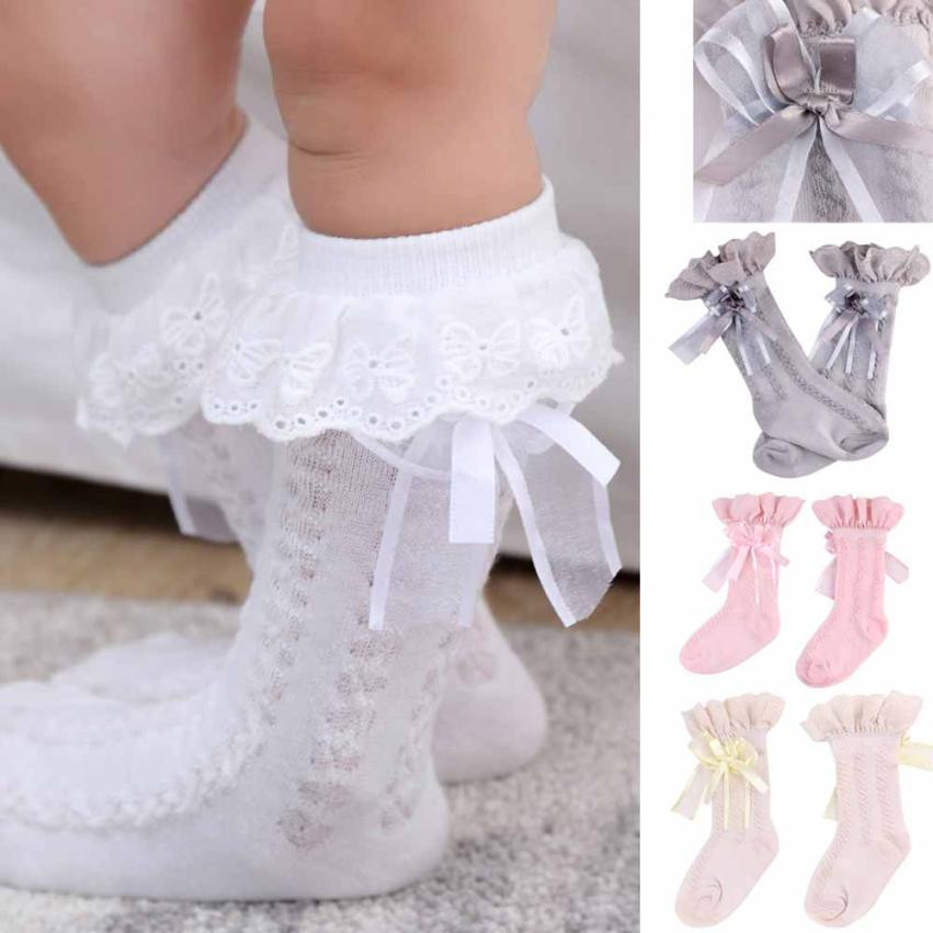 Fashion Newborn Socks Air Conditioning Summer Cute Lace Cotton Baby Kids Girls Toddlers High Quality Xmas Gift Socks hot sale #0