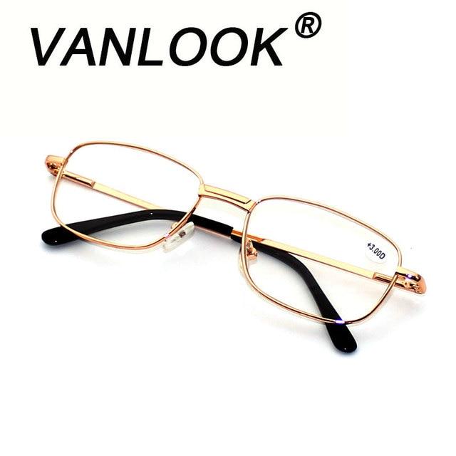 Men's Reading Glasses for Farsightedness Men Sight Spectacles Transparent Spring Hinge +1.00 +1.50 +2.00 +2.50 +3.00 +3.50 +4.00