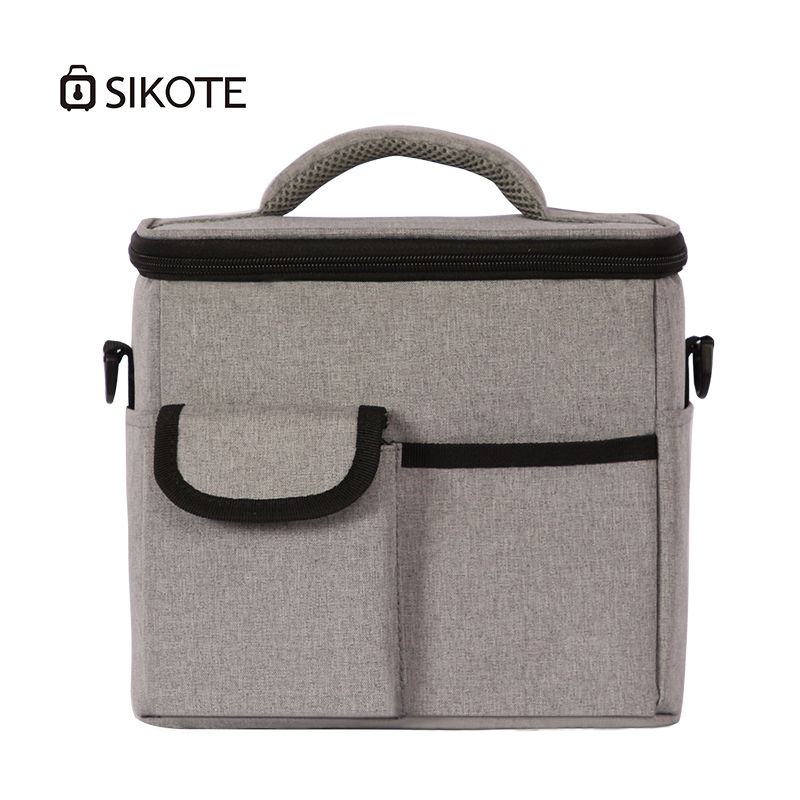 SIKOTE Thickened Lunch Bag 900D Oxford Bags Multi-functional Compartment Lunch Pack Insulation Bag For Women Men Aluminum Foil