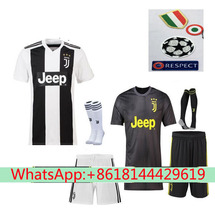 dde6559939c best quality Serie A patch Juventuses RONALDO DYBALA 18 19 HIGUAIN soccer  jersey football 2018 shirt