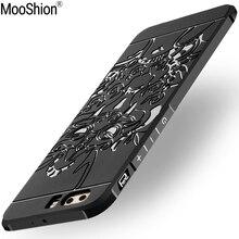 Mooshion роскошный мягкий силиконовый тпу для huawei p10 case полный защитный противоударный телефон принципиально case для huawei p10 плюс