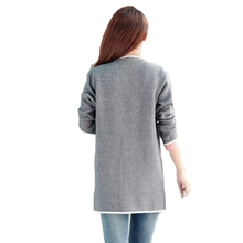 Knitted Open Stitch Trench Coat