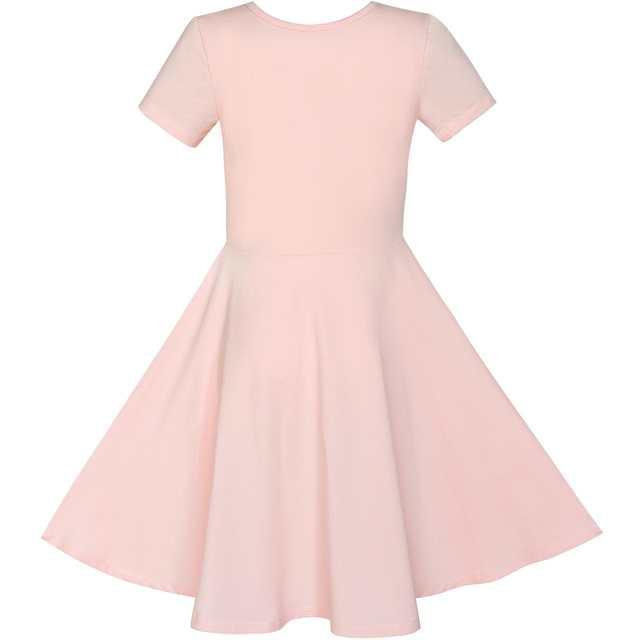 placeholder Girls Dress Misty Rose Owl Sequin Cotton Dress 2018 Summer  Princess Wedding Party Dresses Kids Clothes 51a5aed95c77