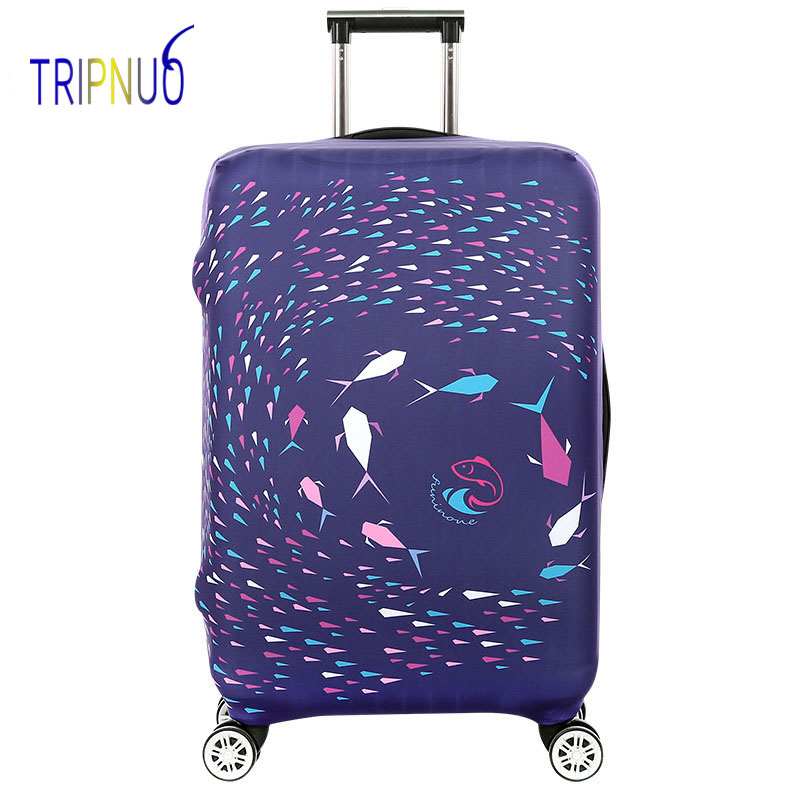 TRIPNUO Travel Accessories Suitcase Protective Covers Elasticity Beach Luggage Covers for 18-32inch Thickest Suitcase Cover