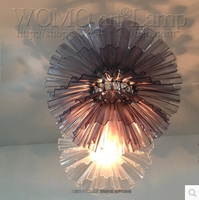 Dandelion Acrylic Droplight Lily Edge Flower Pendant Light