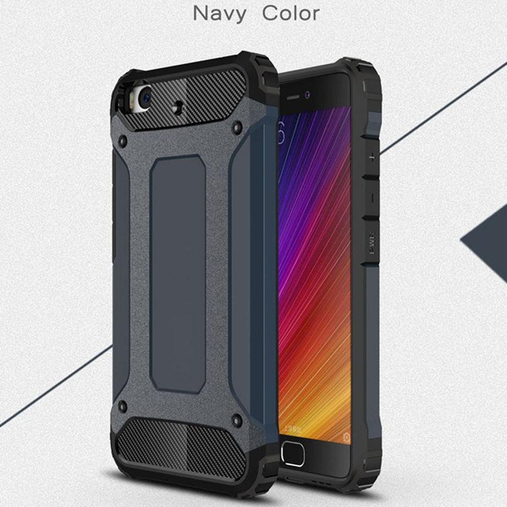 Case for Xiaomi Mi 5 Slim Fit TPU Silicon Hard PC Back Tank Armour - Բջջային հեռախոսի պարագաներ և պահեստամասեր - Լուսանկար 2