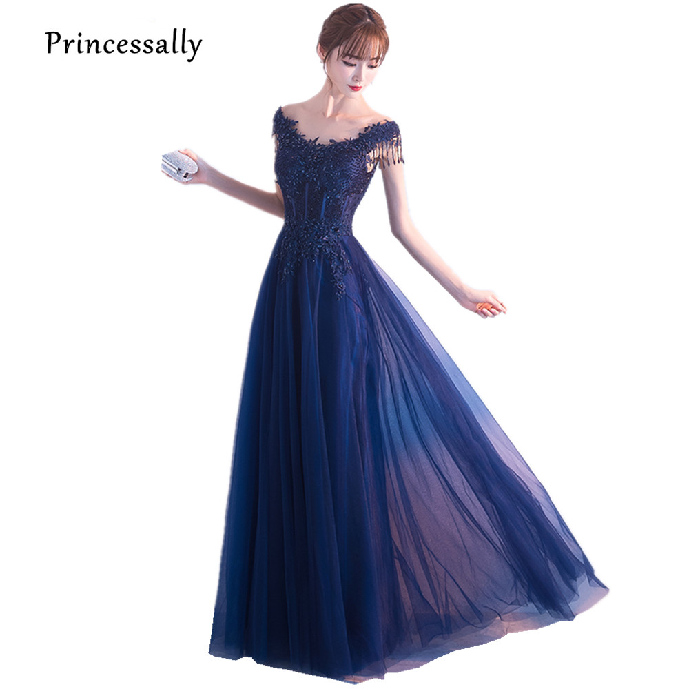 Popular Blue Evening Gown-Buy Cheap Blue Evening Gown lots from ...
