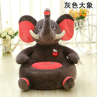 2017 New Creative Bedroom Lazy Plush Sofa Baby Plush Toys Sofa Child Seat Kids Toys Baby