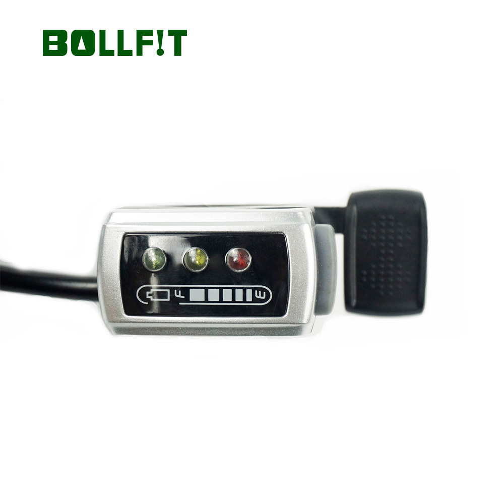 BOLLFIT Ebike Speed Throttle 6 Wires E-Bike Thumb Throttle 36V 48V With Power Switch For Electric Bicycle Conversion Kit