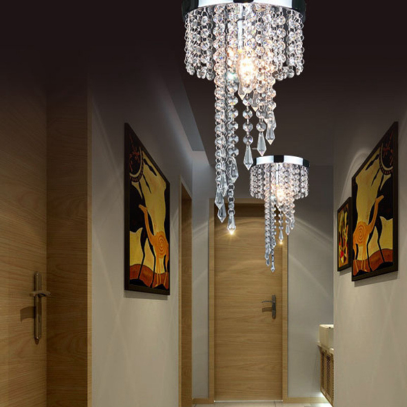 New Home Decoration lustres LED Crystal Chandelier Lamp Modern Chandelier Lighting Crystal Fixture Pendant Ceiling Lamp купить
