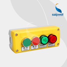 Push Button Switch Box WIth Signal Light /Button Control Station Switch Box 168*68*54mm