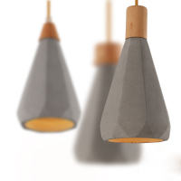 Cement pendent lamp silicone mold Living room dining room concrete gypsum Chandelier Lampshade mould