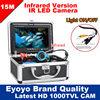 Eyoyo Original 15M Professional Fish Finder Underwater Fishing Video Camera 7 Color HD Monitor 1000TVL HD