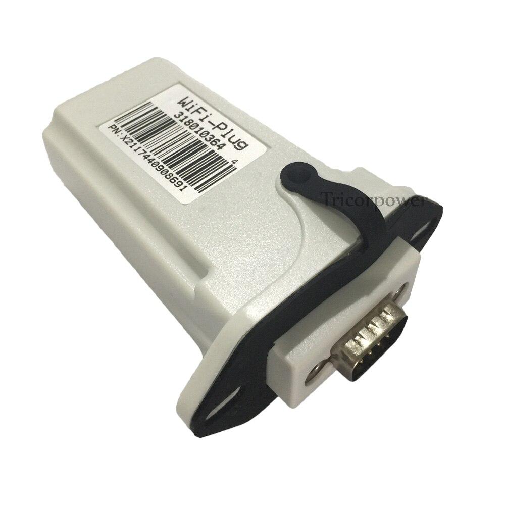 1000 W/2000 W MPPT grille cravate Tnverters Communication WIFI prise WIFI Port pour Web/téléphone APP système de surveillance en ligne