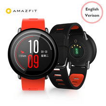 [הגלובלי גרסה] Huami AMAZFIT קצב ספורט חכם שעון Bluetooth 4.0 WiFi 512 MB/4 GB GPS Smartwatch עבור iPhone(China)