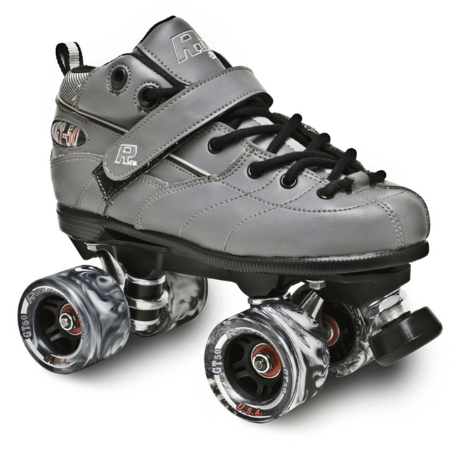 5ea4d2f356b3 Roller Speed Skates with Genuine Leather Two Line Roller Skating Shoes for  Adult Skating Patins